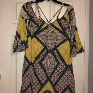 Xhilaration Off the Shoulder Dress, Size XS